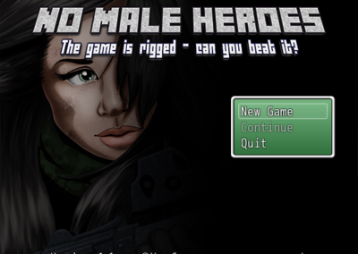 No Male Heroes